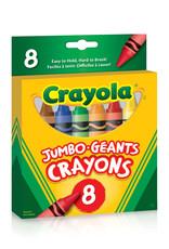 Crayola 8 crayons de cire géants