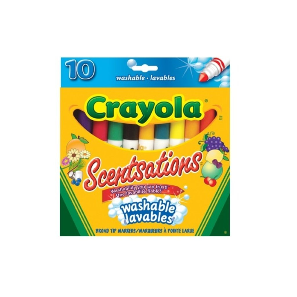 Crayola 10 marqueurs sensations