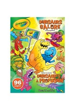 Crayola 96 pages à colorier de dinosaures