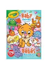 Crayola Cahier à colorier Bébés animaux de 176 pages