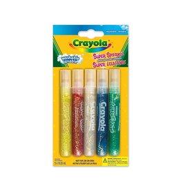 Crayola 5 Colles scintillante super brillante
