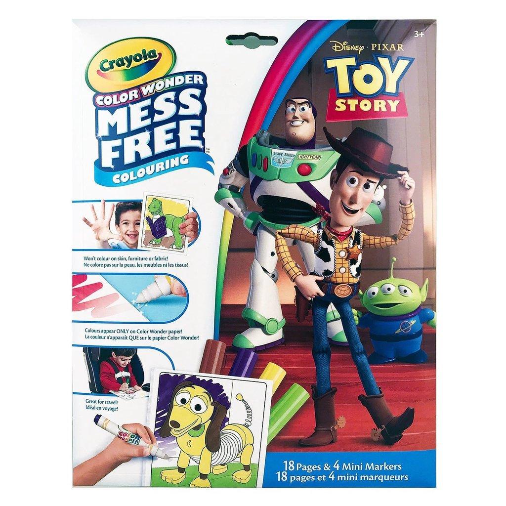 Crayola Pages à colorier et mini marqueurs Toy Story