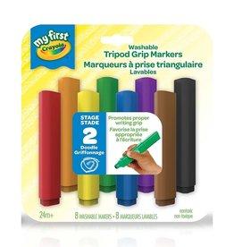 Crayola 8 marqueurs prise triangulaire