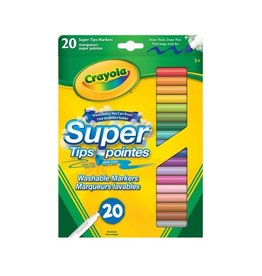 Crayola Marqueurs lavables super pointes