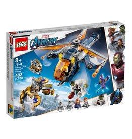 Lego 76144  Avengers Hélicoptère de secours de Hulk