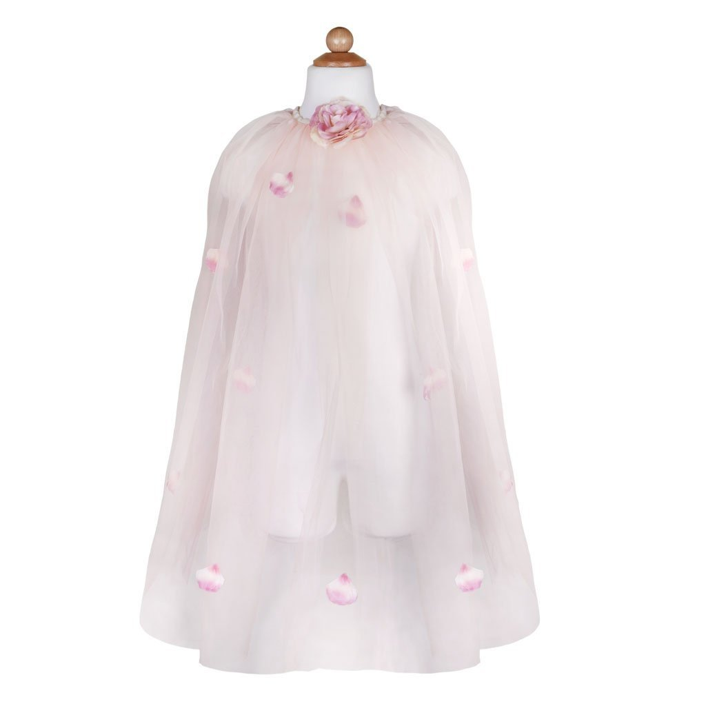 Great Pretenders Cape Princesse rose doré 5-6 ans