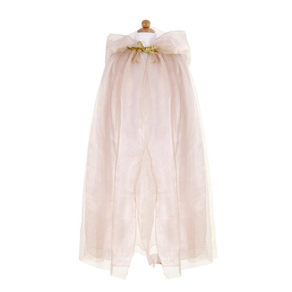 Great Pretenders Cape princesse royal beige or 5-6 ans