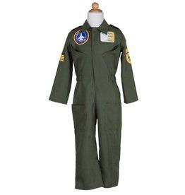 Great Pretenders Combinaison pilote avec casque et badge 5-6 ans