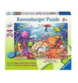 Ravensburger Le trésor de Fishie 24 pc Floor Puzzles