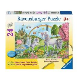 Ravensburger Licornes dansantes 24 pc Floor Puzzles