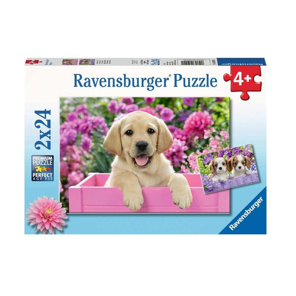 Ravensburger Amis tout doux 2 x 24 pc Puzzles