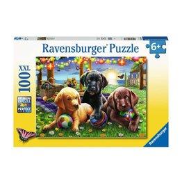 Ravensburger Pique-nique des chiens 100 pc Puzzles