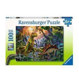 Ravensburger L'oasis des dinosaures 100 pc Puzzles