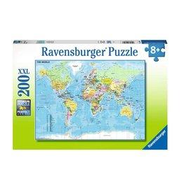 Ravensburger Carte du Monde 200pcs