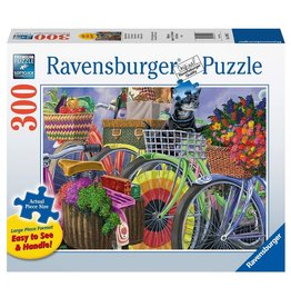 Ravensburger Vélos arc-en-ciel 300 pc Large Format