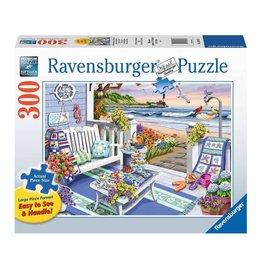 Ravensburger Goûter en bord de mer 300 pc Large Format