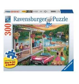 Ravensburger Un été au lac 300 pc Large Format