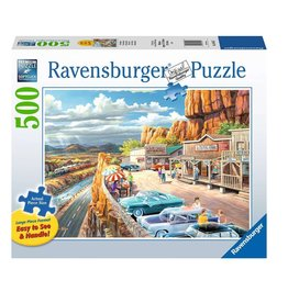 Ravensburger Vue panoramique 500pcs Format Large