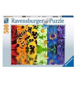 Ravensburger Reflets floraux 500 pc Puzzles