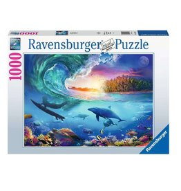 Ravensburger Prendre la vague 1000 pc Puzzles