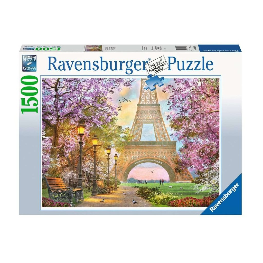 Ravensburger Amour à Paris 1500 pc Puzzles