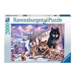 Ravensburger Loups dans la neige 2000pcs
