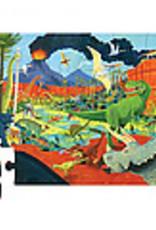 Crocodile Creek Casse-tête 24pcs Les dinosaures