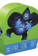 Crocodile Creek Mini casse-tête Go gorilla 12 pièces