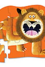Crocodile Creek Mini casse-tête rugissement de lion 12 pièces