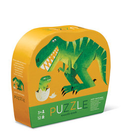 Crocodile Creek Mini casse-tête Éclosion du dinos  12 pieces