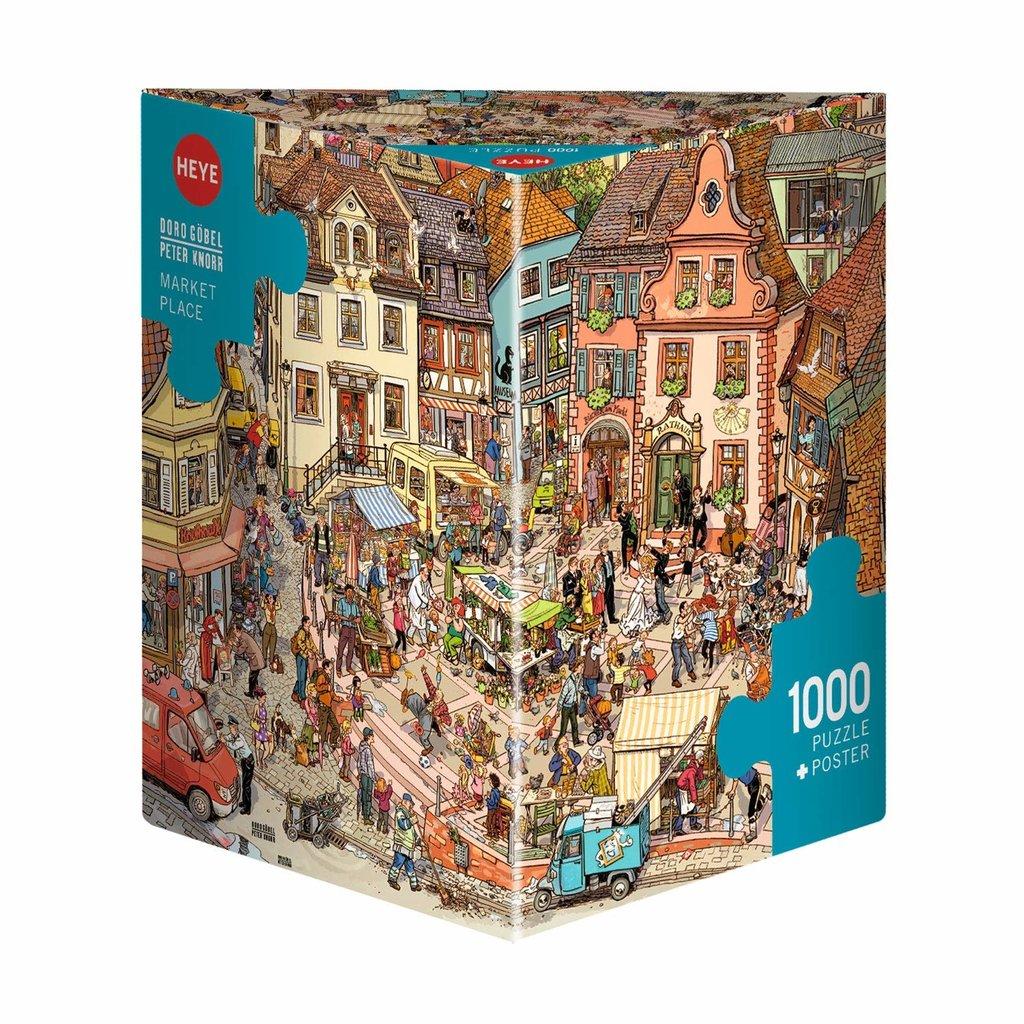 Heye Place du marché, Goebel & Knorr - 1000pcs