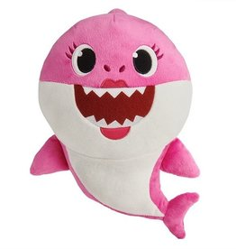 Wowwee Baby Shark  peluche sonore rose