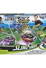 Hasbro Beyblade- Burst Turbo- Arène collision frontale