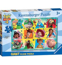 Ravensburger Casse-tête de plancher Histoire de jouets 4  24 pièces