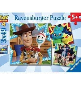 Ravensburger Histoire de jouets 4 Tous ensembles 3x49 pièces
