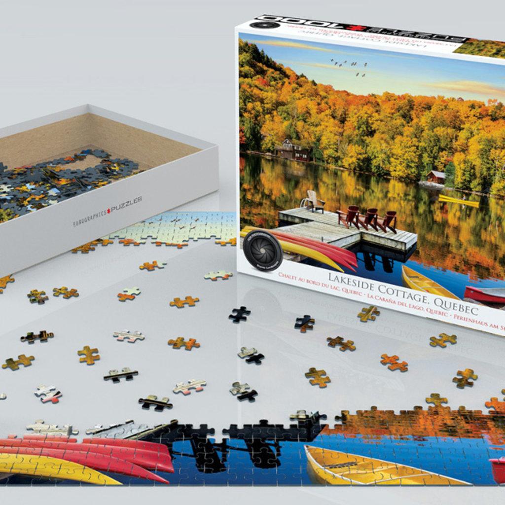 Eurographics Chalet au bord du lac, Quebec 1000 pièces