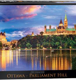 Eurographics La colline du Parlement d' Ottawa 1000 pièces