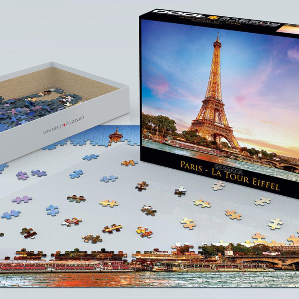Eurographics Paris La Tour Eiffel 1000 pièces