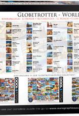 Eurographics Globbetrotteur Le monde 1000 pièces