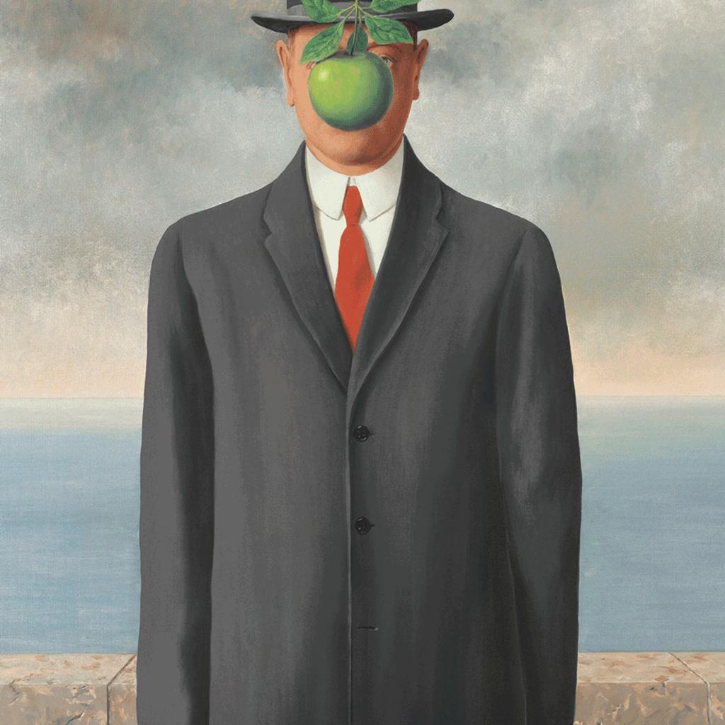 Eurographics Renée Magritte ''Le fils de l'homme'' 1000pièces