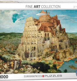 Eurographics La tour de Babel 1000 pièces