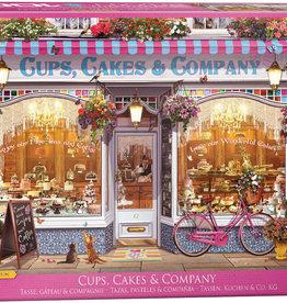 Eurographics Tasses, gâteaux et compagnie 1000pièces