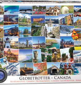 Eurographics Globetrotter Canada 1000 pièces