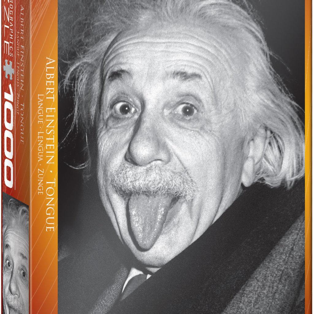 Eurographics Langue d'Einstein   Casse-tête 1000 pièces