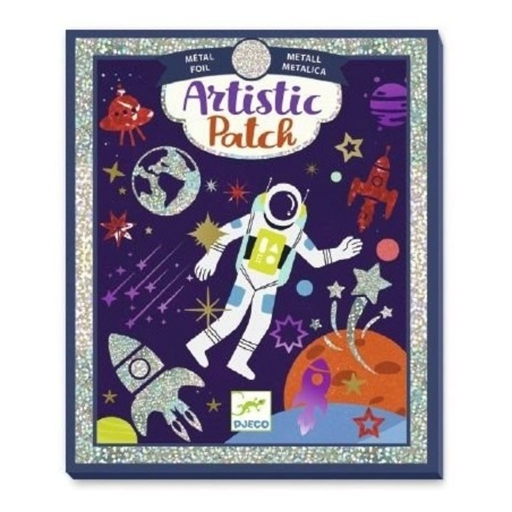 Djeco Artistic patch métal Cosmos