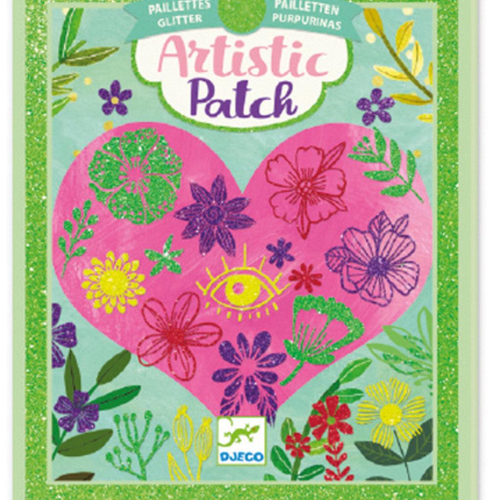 Djeco Artistic patch brillant Pétales