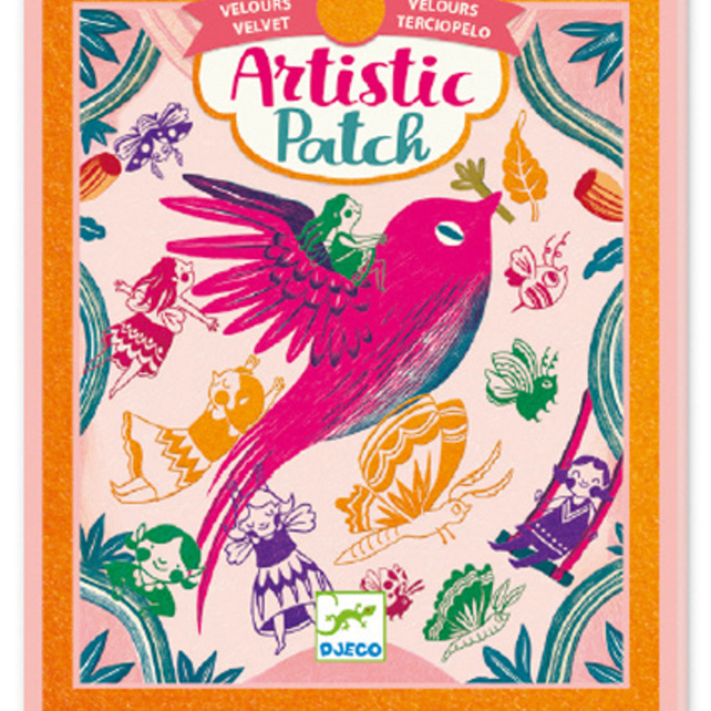 Djeco Artistic patch velours Récréation