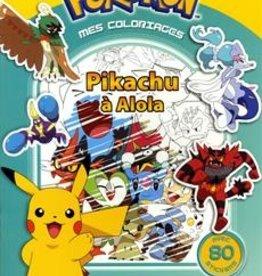 DRAGON D'OR Pokémon  mes Coloriages  Pikachu à Alola