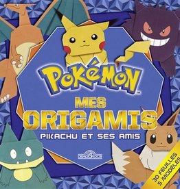 DRAGON D'OR Pokémon Mes origamis  Pikachu et ses amis