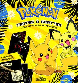 DRAGON D'OR Pokémon – Cartes à gratter avec des infos sur les Pokémon